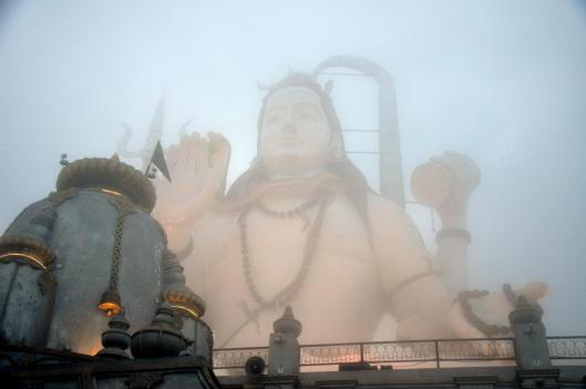 the shiva statue